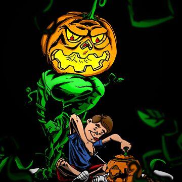 Pumpkin Avenger by MikeLee