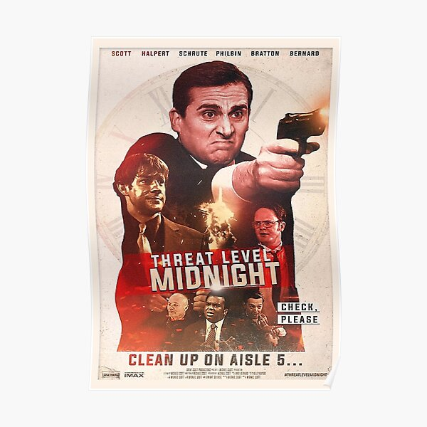 Threat Level Midnight Poster