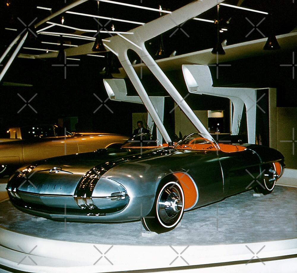 Pontiac Club De Mer At General Motors Motorama 1956 By Haymelter