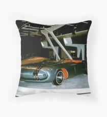 Pontiac Club de Mer at General Motors Motorama 1956 Throw Pillow