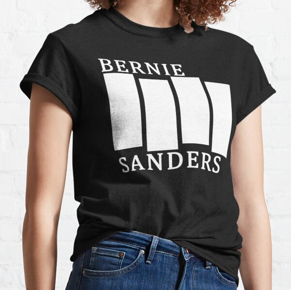 Bernie sanders black flag 2020 Classic T-Shirt