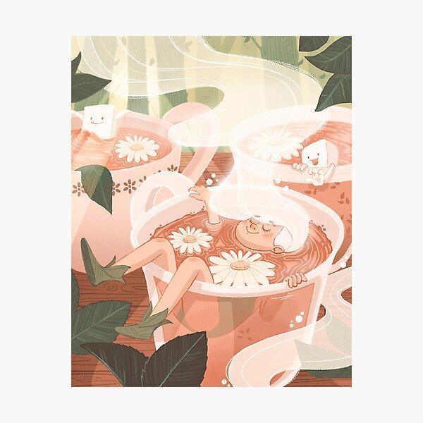 Tea Fairy Photographic Print