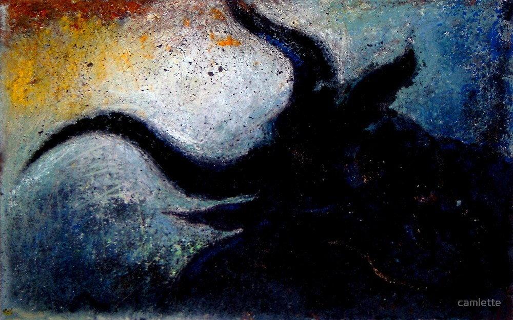 Altered, The Minotaur by Cameron Hampton