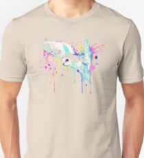 White Barn Owl Watercolor Unisex T-Shirt