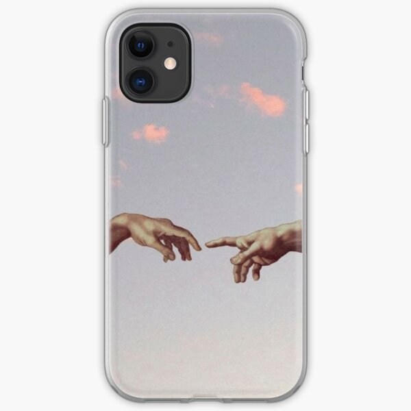 Two-Hand Aesthetic Wallpaper  iPhone Soft Case