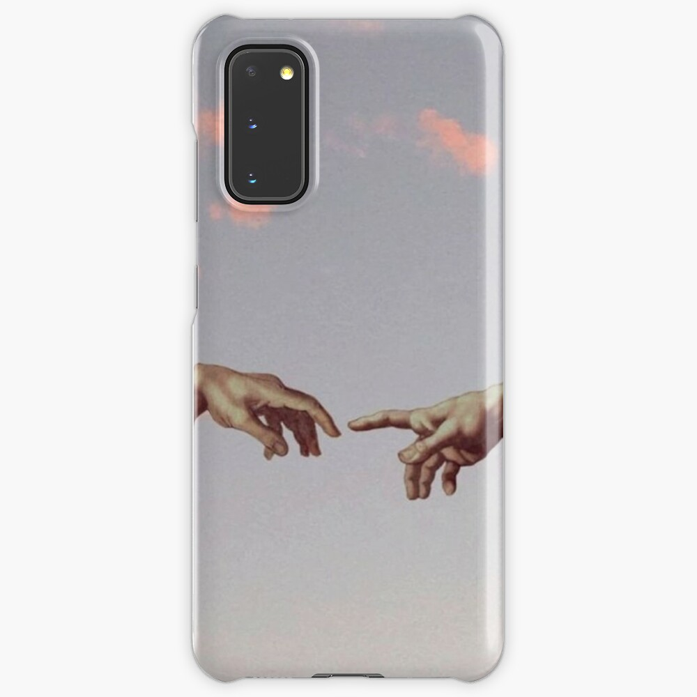 Two Hand Aesthetic Wallpaper Case Skin For Samsung Galaxy By Shop4fun Redbubble