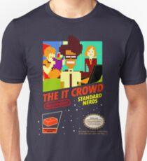 Camiseta ajustada El juego IT Crowd NES