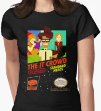 The IT Crowd NES game Womens Fitted T-Shirt