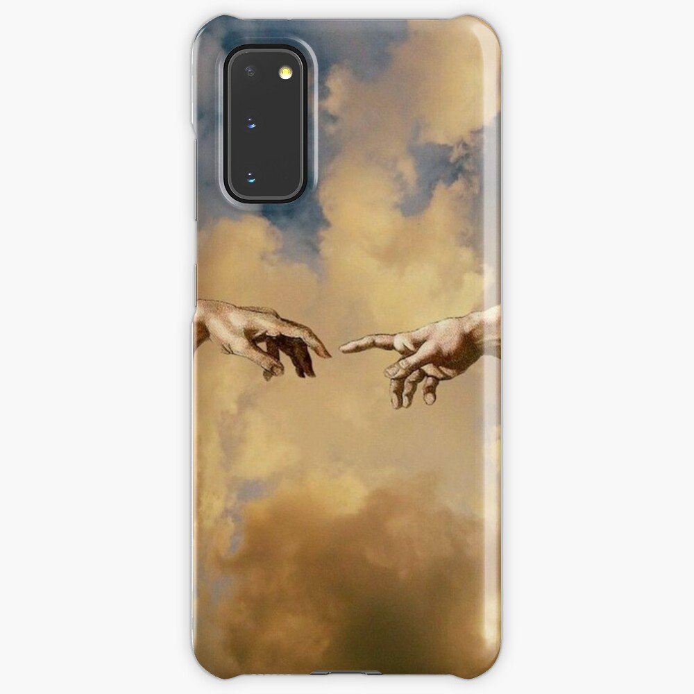 Two Hand In Sky Aesthetic Wallpaper Case Skin For Samsung Galaxy By Shop4fun Redbubble