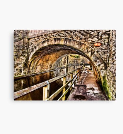 Bridge No.2 at Skipton Canvas Print