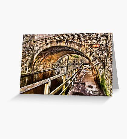 Bridge No.2 at Skipton Greeting Card