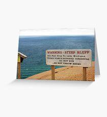 Sleeping Bear Dunes, Michigan, Again ~ A Notable Reality Greeting Card