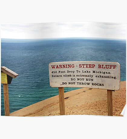 Sleeping Bear Dunes, Michigan, Again ~ A Notable Reality Poster