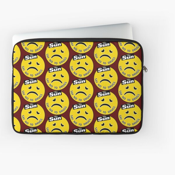 The Sun - Say No To Drugs [Acid House Rave Smiley / 'Frowny'] Laptop Sleeve