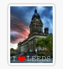 Leeds Town Hall Sticker