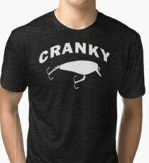 CRANKY Tri-blend T-Shirt