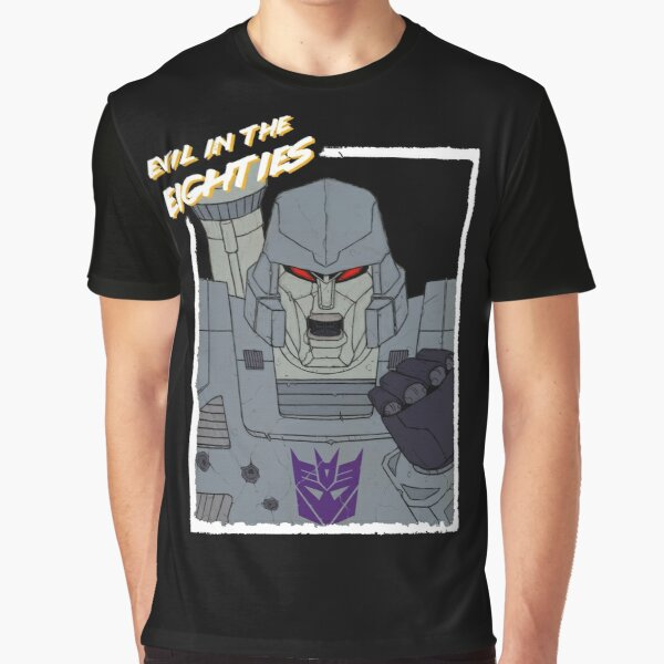 Evil in the Eighties - Megatron Graphic T-Shirt