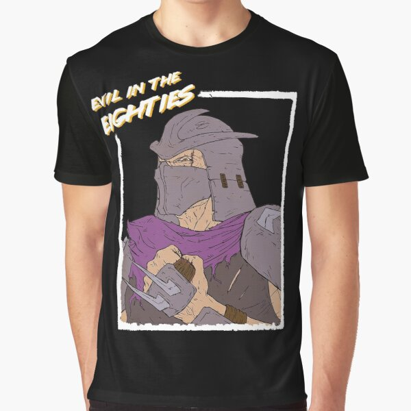 Evil in the Eighties - Shredder Graphic T-Shirt