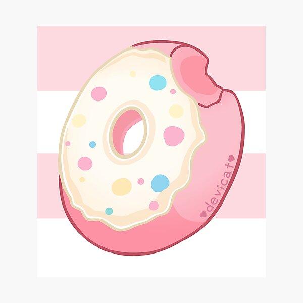 Marshmallow Twist Donut - 2020 Photographic Print