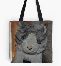 Cat on the wall Tote Bag