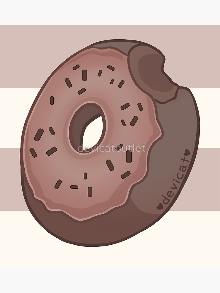 Chocolate Donut - 2020 by devicatoutlet