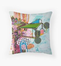 untitled 2 (or: brave new world ) Throw Pillow