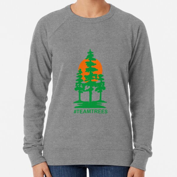 Team Trees Official Logo Lightweight Sweatshirt