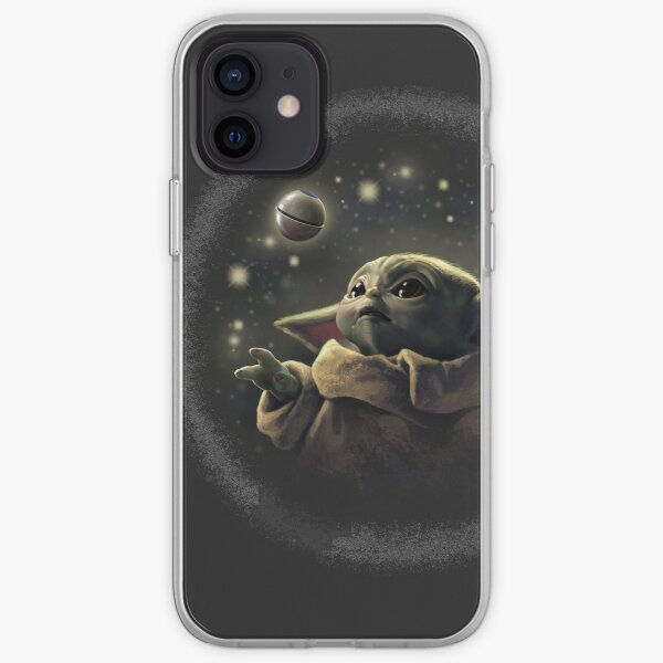 The baby with ball iPhone Soft Case
