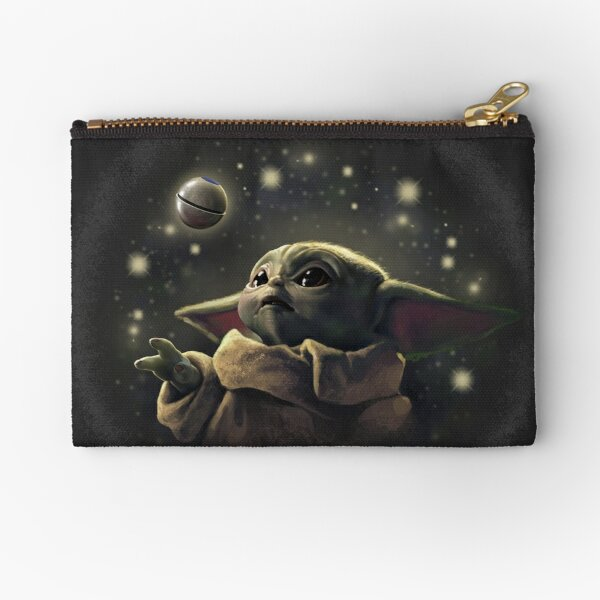 The baby with ball Zipper Pouch