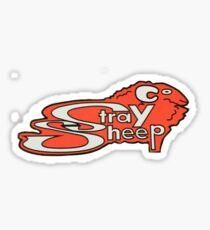 Stray Sheep Pizza Sticker