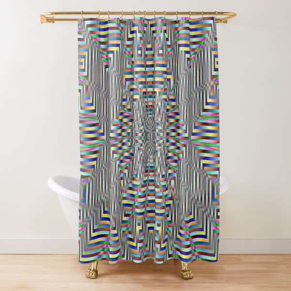 Motif, Visual art Shower Curtain