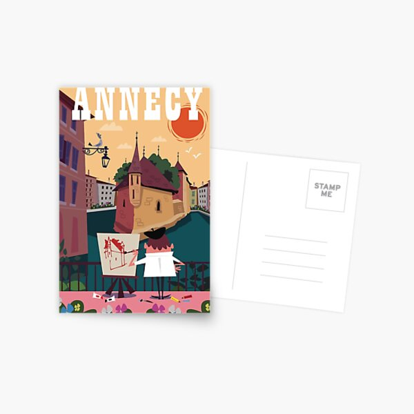 Affiche Annecy Carte postale