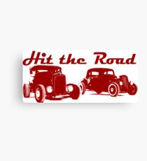 Hit the Road Hot-Rods Canvas Print
