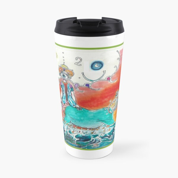 As if I was made out of water Travel Mug