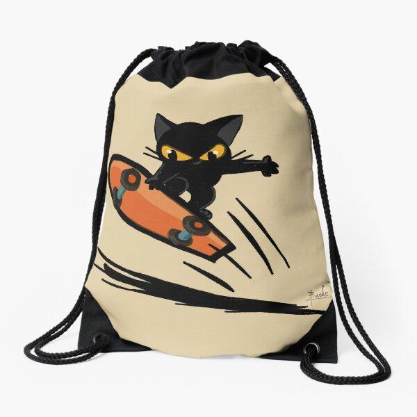 Boarder Drawstring Bag