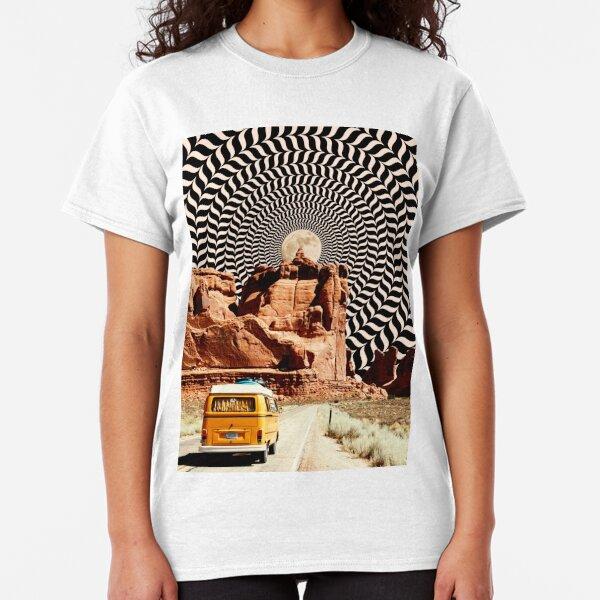 Illusionary Road Trip Classic T-Shirt