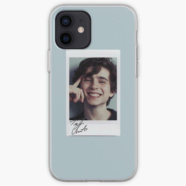 Timothee Chalamet Polaroid # 2 Coque souple iPhone