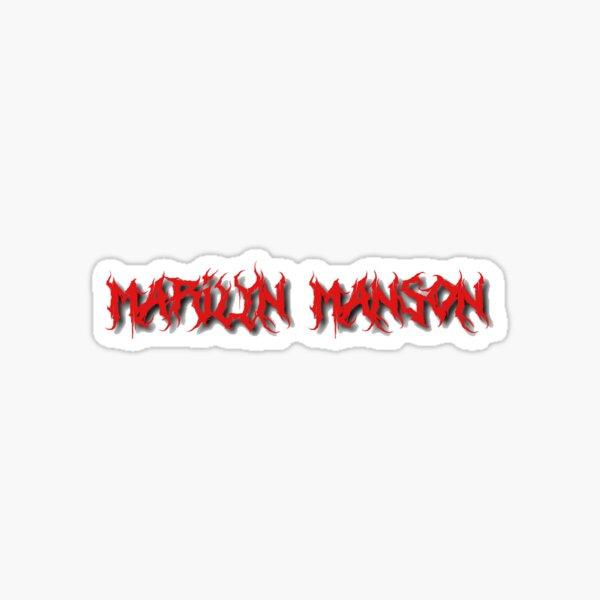 Marilyn Manson Sticker