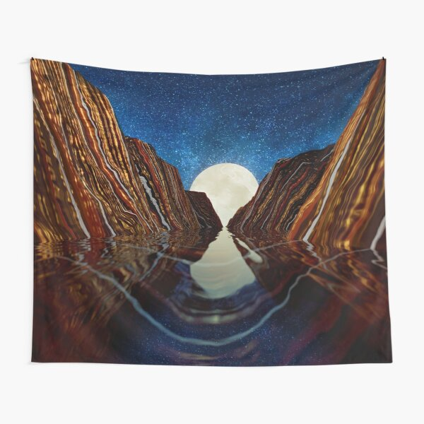 Moon Reflection Tapestry