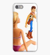 Woody sneaky peek iPhone Case/Skin