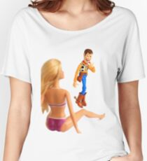 Woody sneaky peek Women's Relaxed Fit T-Shirt
