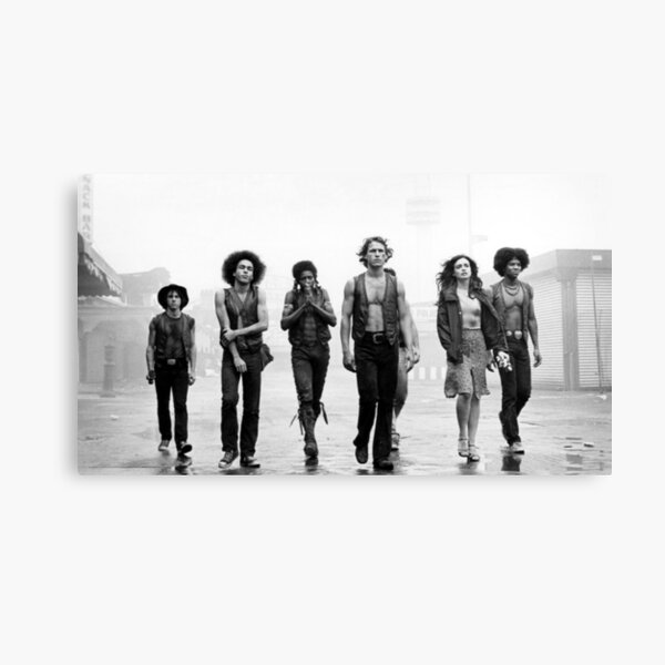 TOP SELLER - The Warriors Black and White Photo Canvas Print
