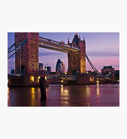 Dawn Light at Tower Bridge - London. Photographic Print