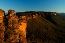 Boar's Head Rock, Katoomba. by Andy Newman