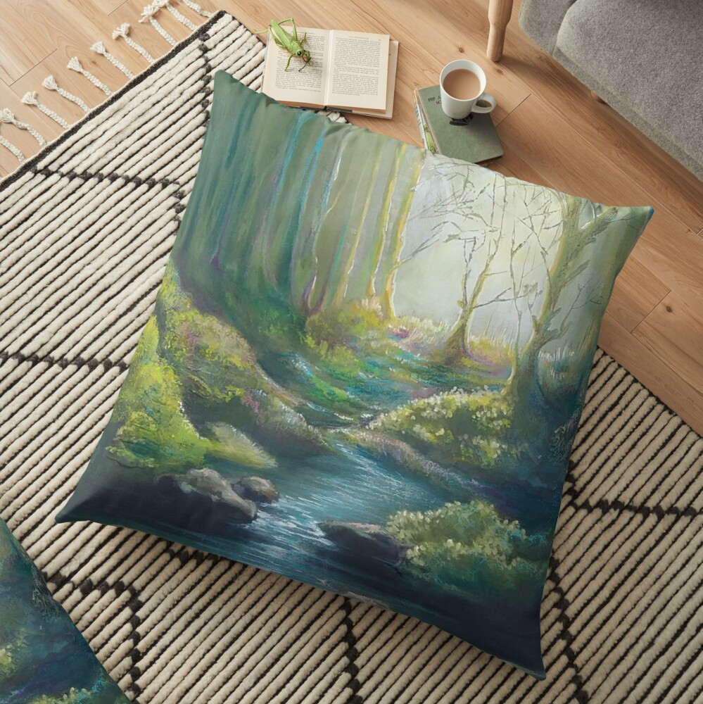 Forest Charm Floor Pillow