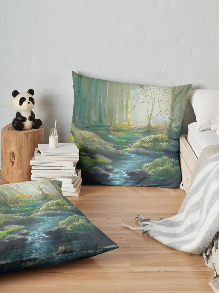 Alternate view of Forest Charm Floor Pillow