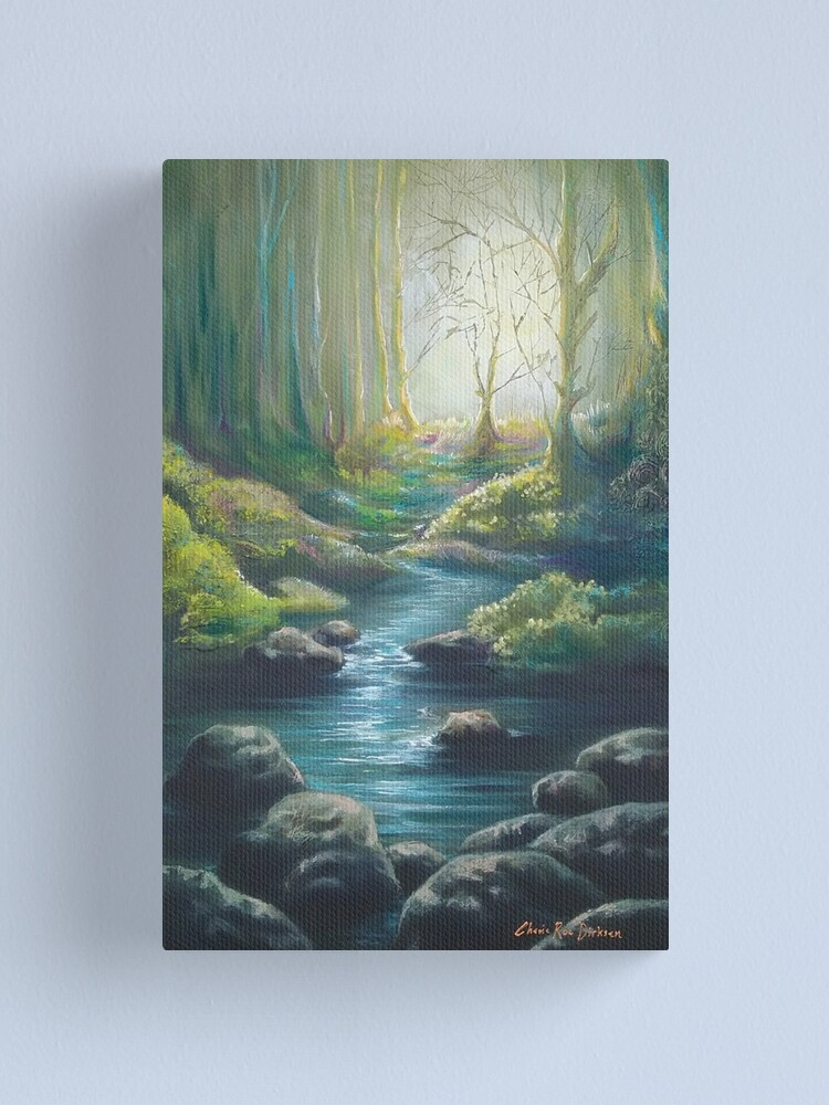 Alternate view of Forest Charm Canvas Print
