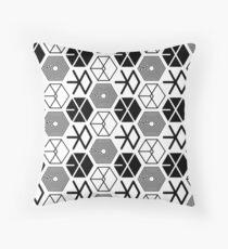 EXO Logo Pattern 2 Throw Pillow