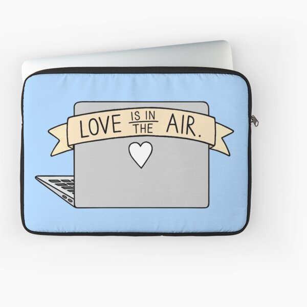 Love is in the Air Laptop Sleeve