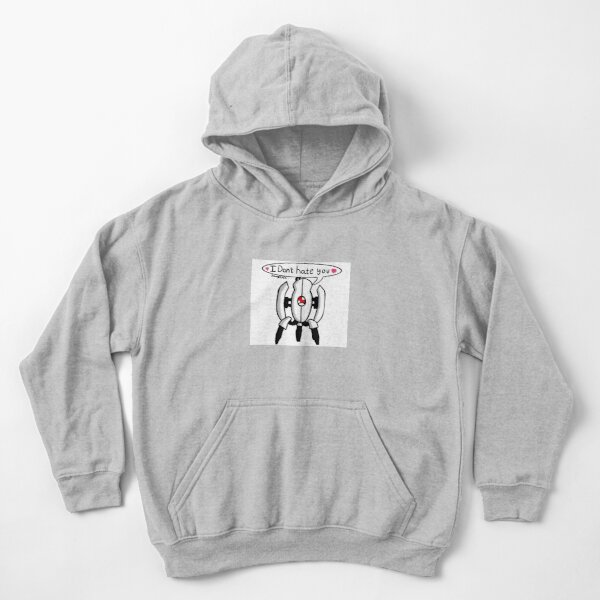 I don't hate you! Kids Pullover Hoodie